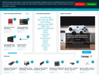 hifipriser.dk screenshot