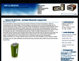 hifiunddesign.de screenshot