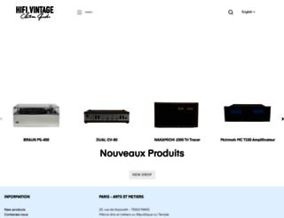 hifivintage.eu screenshot