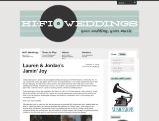 hifiweddings.com screenshot