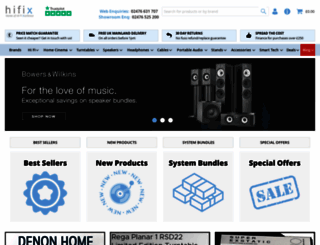 hifix.co.uk screenshot