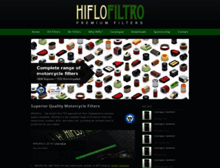 hiflofiltro.com screenshot