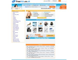hifreeads.co.uk screenshot