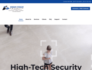 high-techcctv.com screenshot