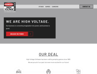 high-voltage.com screenshot