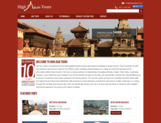 highasiatours.com screenshot