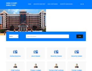 highcourtdirectory.com screenshot