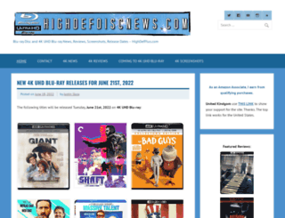 highdefdiscnews.com screenshot