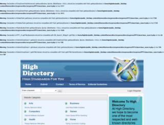 highdirectory.com screenshot