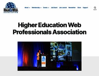 highedweb.org screenshot