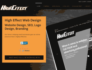 higheffectdesign.com screenshot