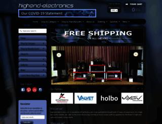 highend-electronics.com screenshot