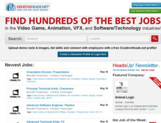 highendcareers.com screenshot