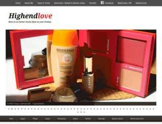 highendlove.de screenshot
