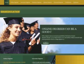 higher-education-guide.com screenshot