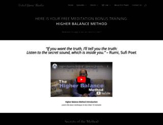 higherbalancemethod.com screenshot