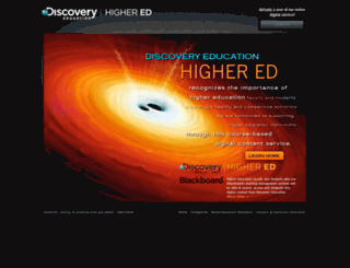 highered.discoveryeducation.com screenshot
