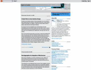 higheredweb.blogspot.de screenshot