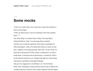 higherorderlogic.com screenshot