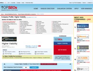 highervisibility.topseos.com screenshot
