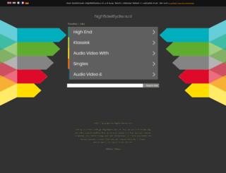 highfidelitydiscs.nl screenshot
