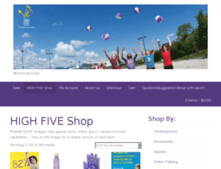 highfivestore.org screenshot