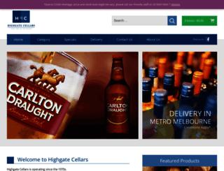 highgatecellars.com.au screenshot