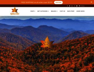 highlandhiker.com screenshot