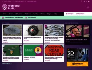 highlandradio.com screenshot