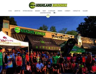 highlandrunners.com screenshot
