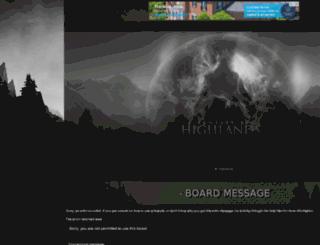 highlands.jcink.net screenshot