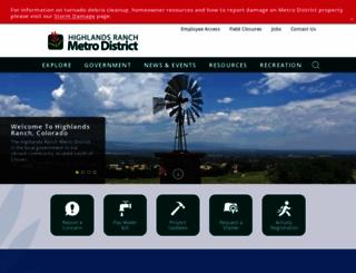 highlandsranch.org screenshot