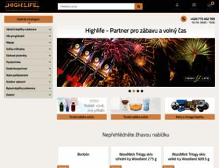 highlife.cz screenshot