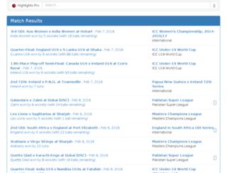 highlightspro.com screenshot