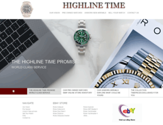 highlinetime.com screenshot