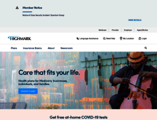 highmark.com screenshot
