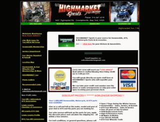 highmarketsports.com screenshot