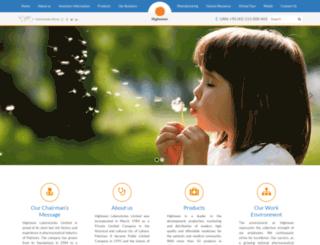highnoon-labs.com screenshot