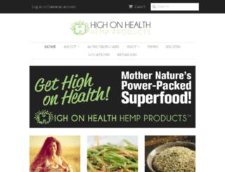highonhealth.org screenshot