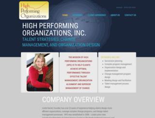 highperformingorgs.com screenshot
