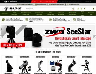 highpointscientific.com screenshot