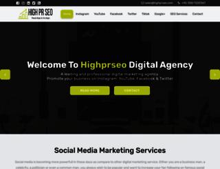 highprseo.com screenshot
