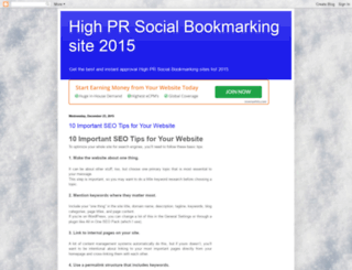 highprsocialbookmarking.blogspot.in screenshot