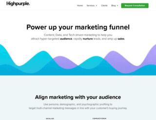 highpurple.com screenshot