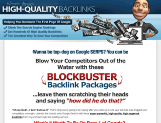highqualitybacklinks.com screenshot