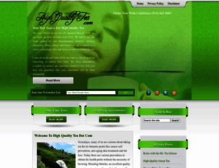 highqualitytea.com screenshot