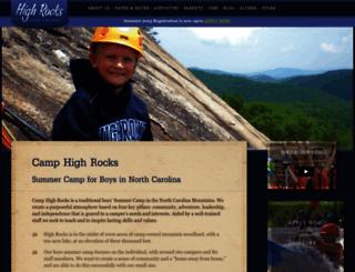 highrocks.com screenshot