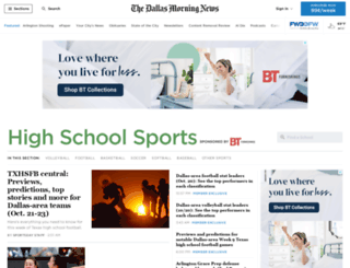 highschoolsportsblog.dallasnews.com screenshot
