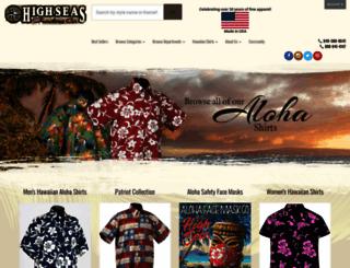 highseastrading.com screenshot
