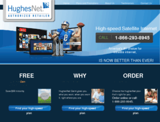 highspeed-satellite-internet.com screenshot
